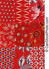 red quilt pattern - my handmade quilt pattern