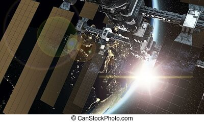 International Space Station - international space station...