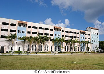 Florida Parking Deck - Distinctive florida architecture...