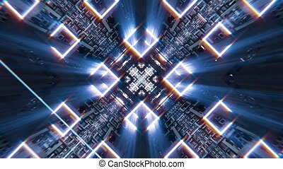 VJ Frame Fractal Space - Full HD VJ frame fractal space...