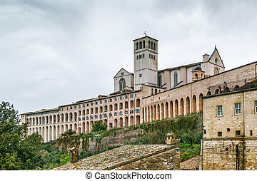 Basilica of St. Francis of Assisi, Italy - The Papal...