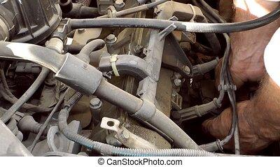 Car Mechanic Engine Repair