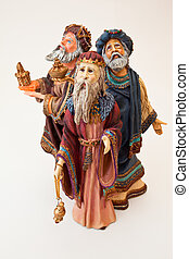 Three Wisemen - A statue of the three wise men from the...