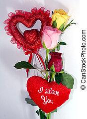 Valentine Rose Flower