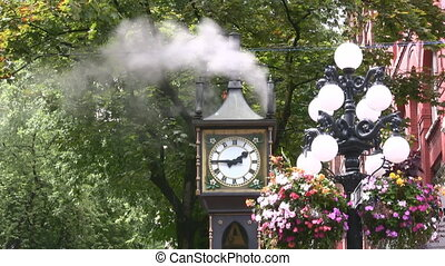 Steam Clock - The Steam Clock In Gastown Area Of Vancouver,...