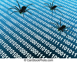 Internet bugs - Penetration into a computer of a virus from...