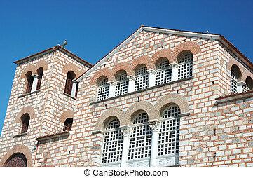 Byzantine orthodox church of Aghios Demetrios in Thessaloniki
