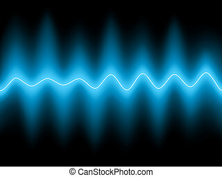 Abstract blue background EPS 8 vector file included