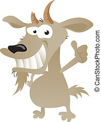 Wacky Goat cartoon character