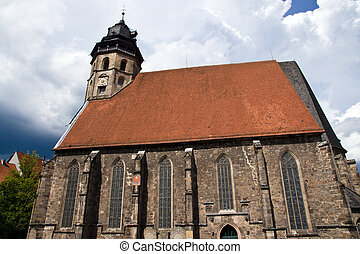 St Blasius Church in Hann Muenden, Germany