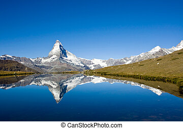 Panorama of the Matterhorn - Panorama of the famous...