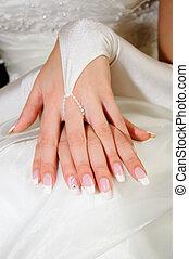 well-groomed skin - well-groomed hands