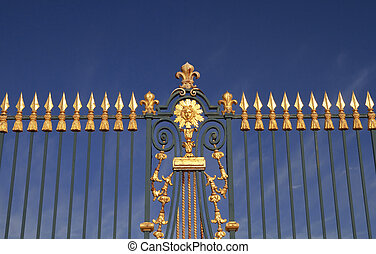 Entrance of Versailles Palace