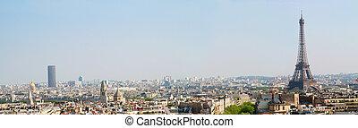 paris landscape - a view of paris landscape