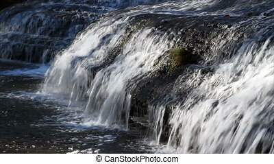Thistlewaite Falls HD Loop - Widescreen seamless loop of...