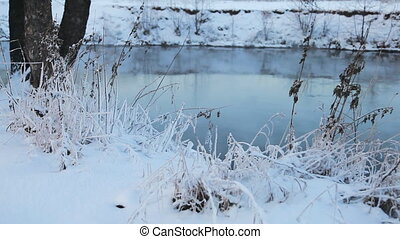 Winter landscape sequence