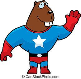 Superhero, castor