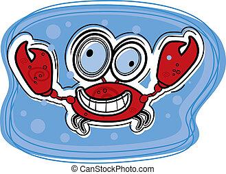 Crab Smiling