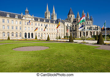 Caen, Normandy, France - church of Saint Etienne, LAbbaye...