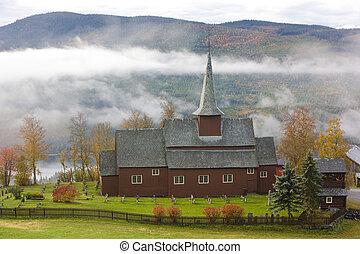 Hegge Stavkirke, Norway