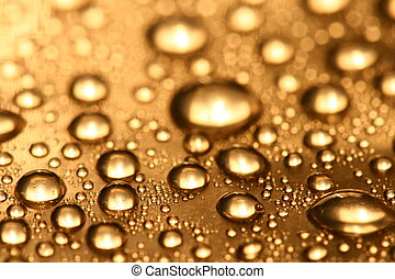 waterdrops - clean shiny waterdrops macro background