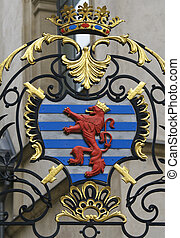 Coat of arms of Luxembourg - Coat of Arms of the Grand Duke...