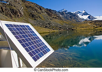 Solar technology in the alps