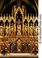 Votivkirche in Vienna, Austria - one of the most important...