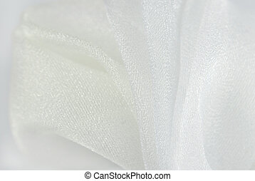 white organza fabric texture