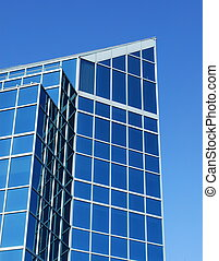 Glass Building - A glass building in downtown Halifax