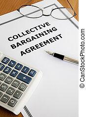 coletivo, negociar, acordo
