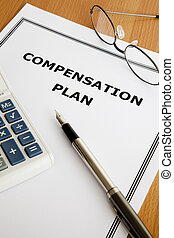Compensation Plan - Image of a compensation plan on an...