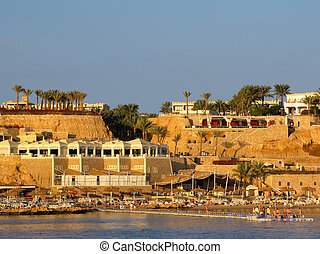 Beach at Sunset, Sharm El Sheikh