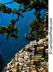 Positano (Salerno/Italia) taken by location Nocelle -...