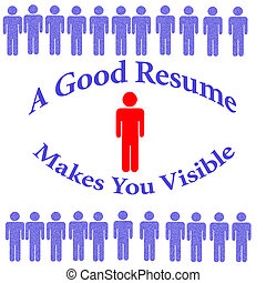 outstanding resume - get a good resume red white and blue...