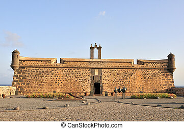 Old Castle in Arrecife of Lanzarote