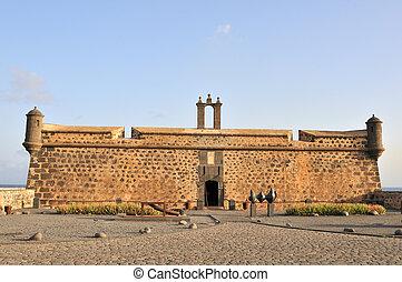 Old Castle in Arrecife of Lanzarote