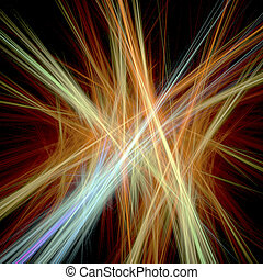 abstract - digital visualization of a abstract background