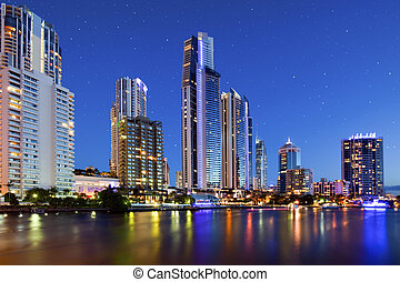 Surfers Paradise city view