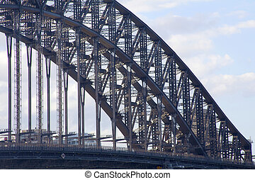 Harbour Bridge  - Section  of the Harbour Bridge in Sydney
