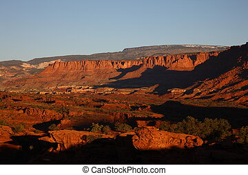 Sunrise Capitol Reef National Park