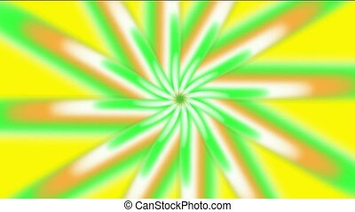 whirl light rays in space,windwill