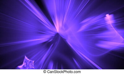purple blue particle motion bg