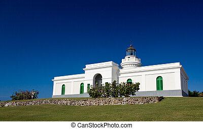 Old lighthouse at Cape San Juan - Cape San Juan lighthouse...