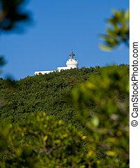 Old lighthouse at Cape San Juan
