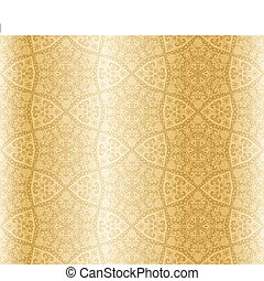 Sepia starshaped seamless arabesque - Seamless pattern...