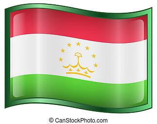 Tajikistan Flag icon.