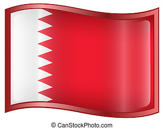 Bahraini Flag icon.