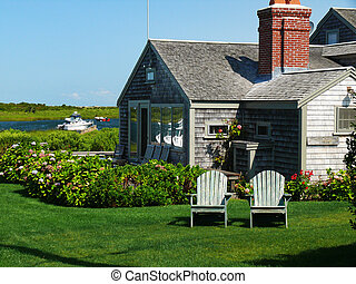Summer Home Nantucket - summer home on Nanatucket on a...