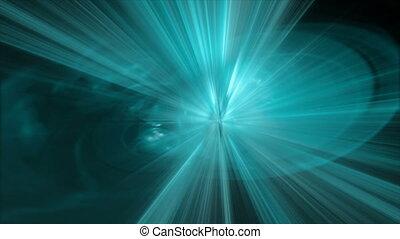 aqua blue rays motion bg